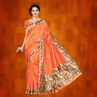 Exclusive Plain Mysore Silk Saree