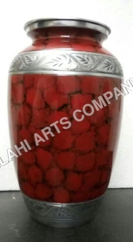 Red Clouded Urn