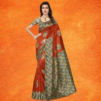 Beautiful Kalmakari Printed Saree