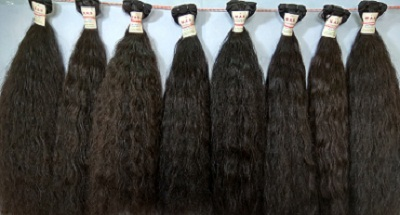 100% Remy Machine Weft Human Hair