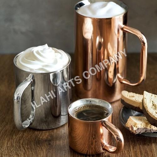 Double Tall Wall Copper Mule Mug