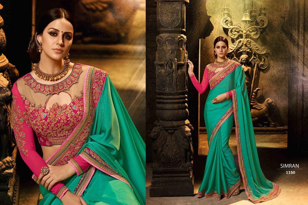 Designer Wedding Sarees Online
