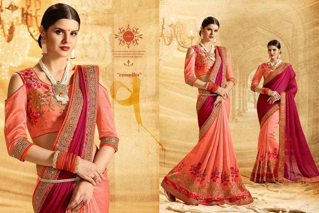 Fancy Bollywood Designer Sarees Online