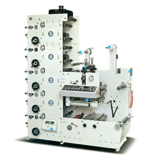 Flexo Sticker Printing Machine