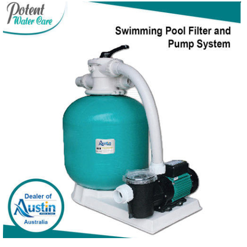 Swimming Pool Filter and Pump System