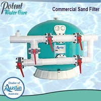 Commercial Sand Filter Plant