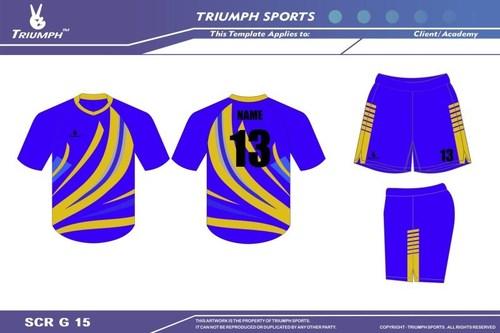 Dry-sublimated kabaddi uniform