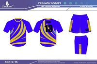Dry-sublimated kabaddi uniform