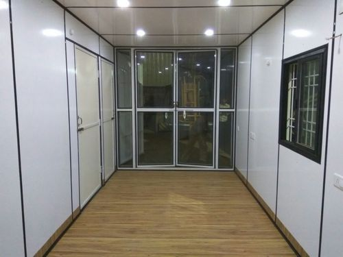 SHIPPING CONTAINERS AND OFFICE CABIN