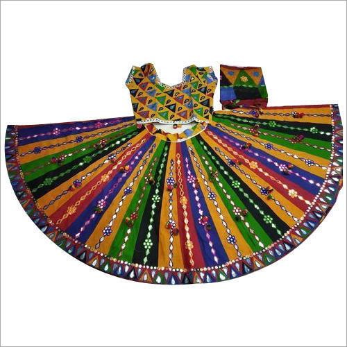 Mirror Work Ghagra Choli