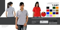 Ladies Golf T Shirts