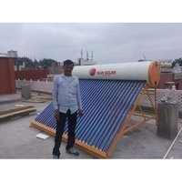 Evacuated Tube Solar Water Heater