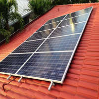 Small Solar Rooftop Panel