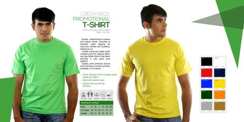Crew Neck Promotional T Shirts