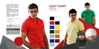 Red Color Golf T Shirts