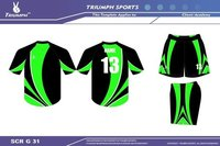 Full-printed kabaddi uniform