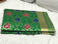 Kanchipuram silk Heavy Zari Work saree (DNHSILK4)