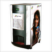 4 Lane Hot Beverage Vending Machine