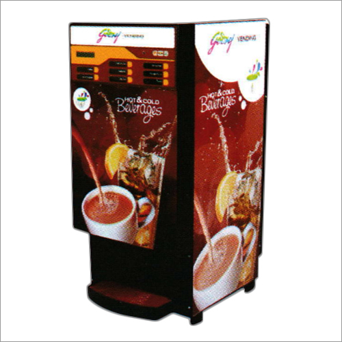 6 Lane Hot Beverage Vending Machine