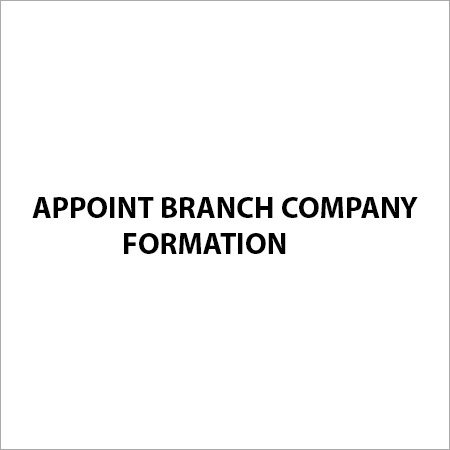 Appoint Branch Company Formation Services