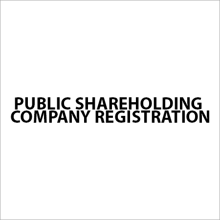 Public Shareholding Company Registration Services