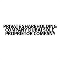 Private Shareholding Company Services
