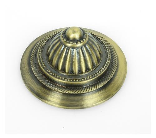 Brass Mandir Mirror Cap