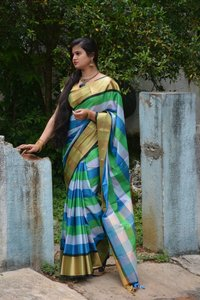 Multichex Soft Silk Saree (DNHSILK5)