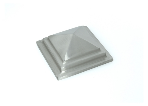 Brass Mirror Cap Royal Pyramid