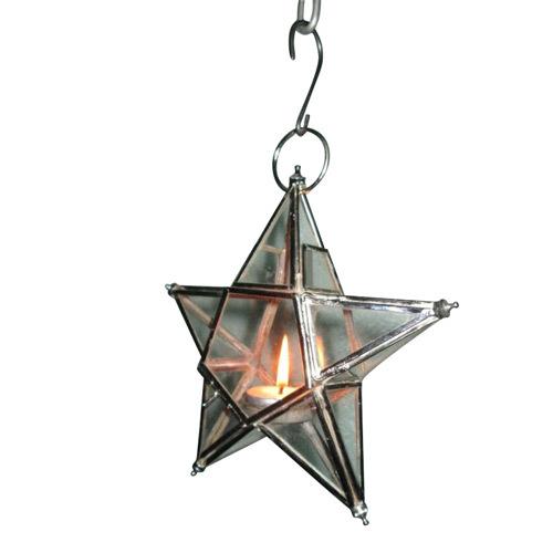 star Hanging candle  Holder