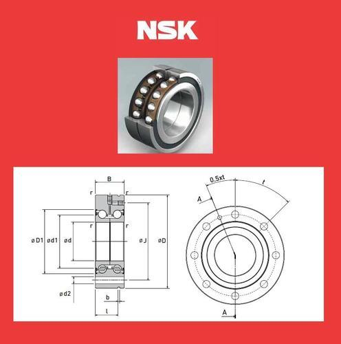 NSK BALL SCREW SUPPORT BEARING 50 BNR 10