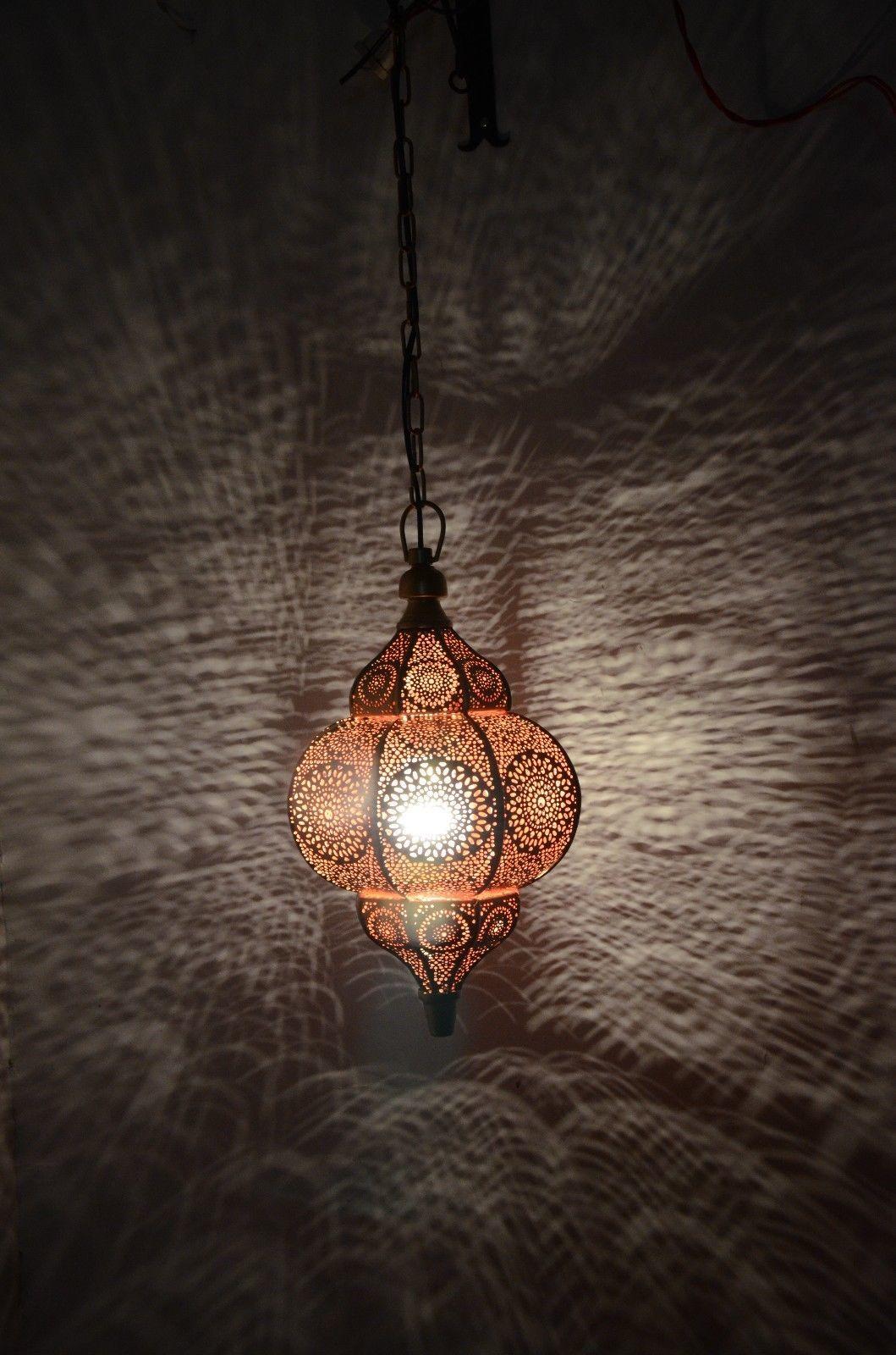 Decorative Moroccan Lamp Hanging Pendant Light