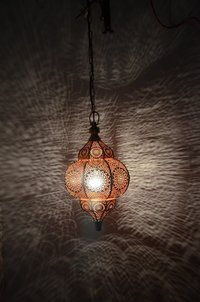 Decorative Moroccan Lamp Hanging Pendant Light