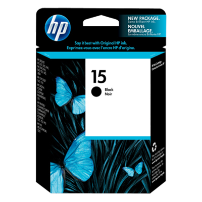 15 C6615DA Black Ink Cartridge