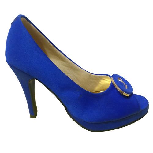 Ladies Blue Ballerina Shoes
