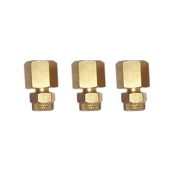 Brass Pu Connector Female