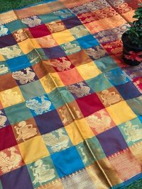 Kanchipuram silk saree (DNHSILK7)
