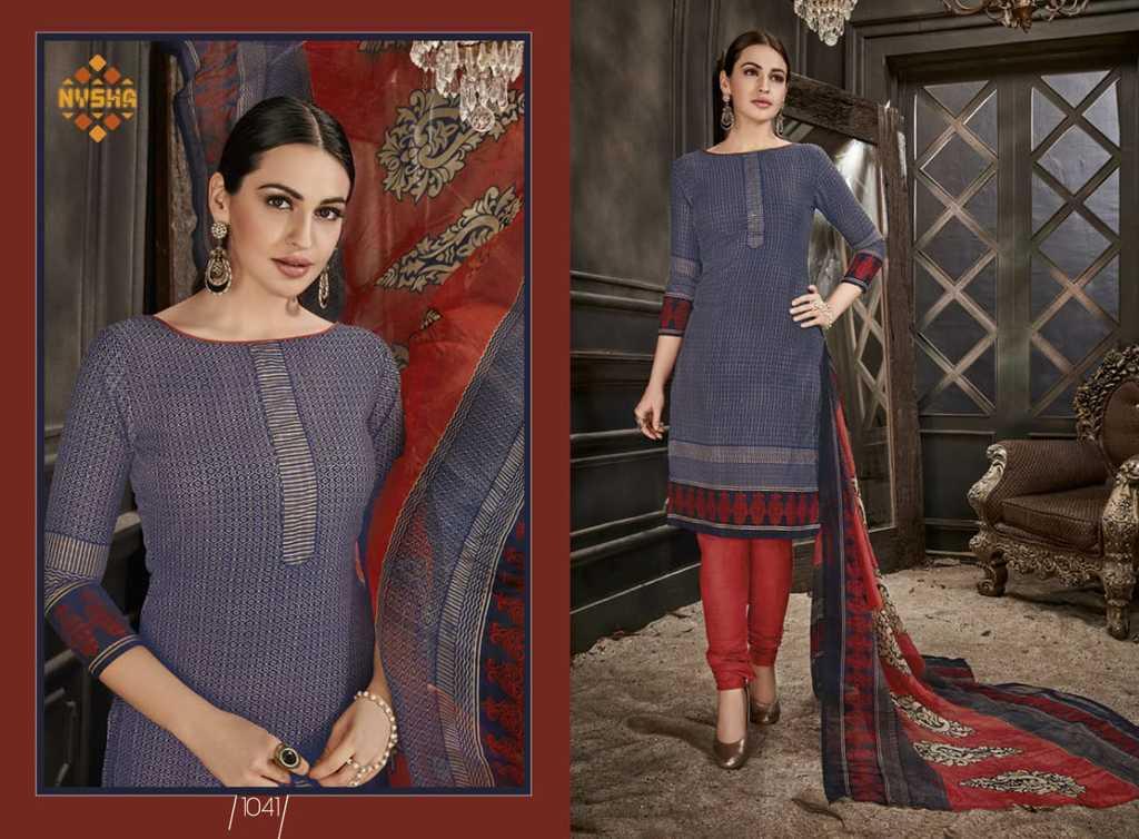 Ladies Cotton Print Suits