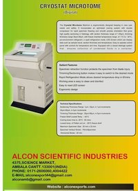 Digital Cryostat Microtome