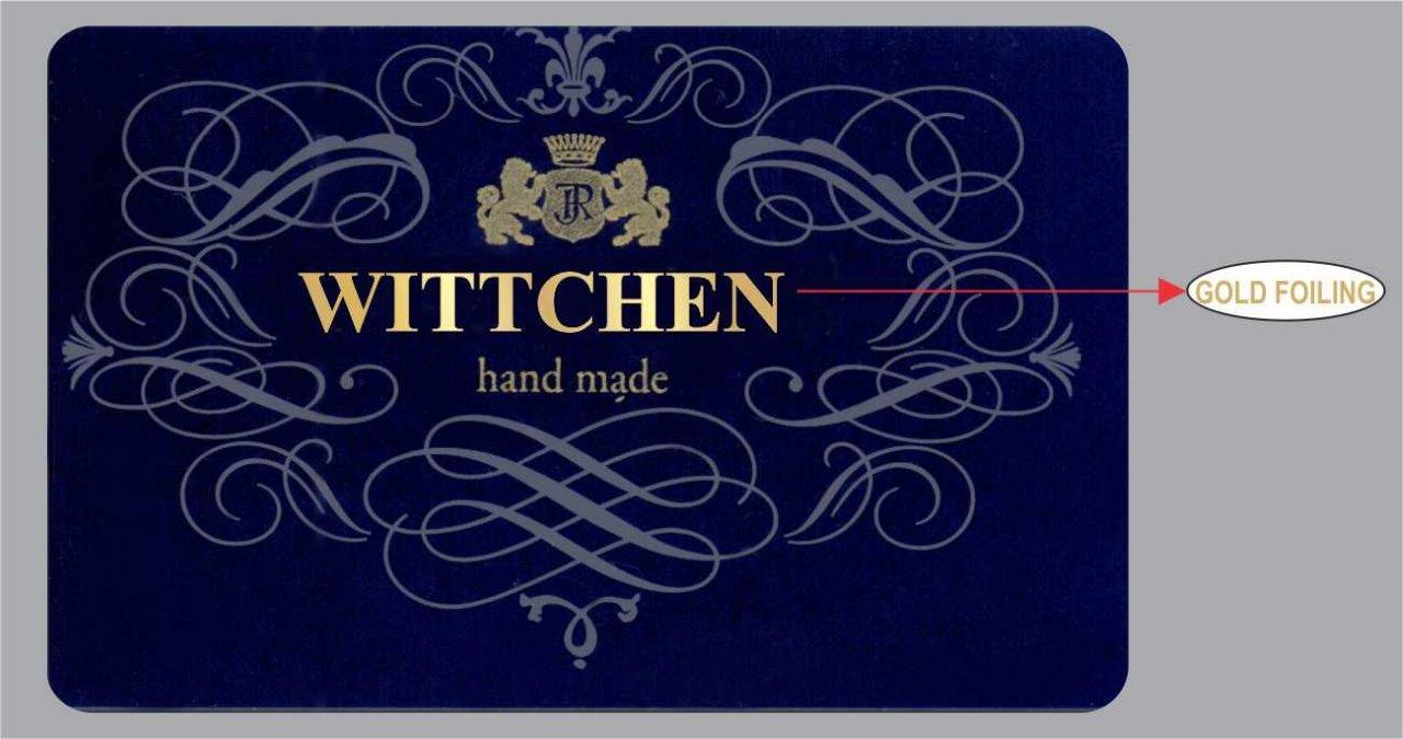 Gold Foiling Cards