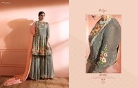 Wedding Party Heavy Sharara Suits