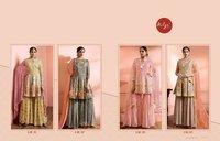 Wedding Party Heavy Sharara Suits