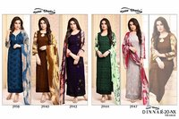 Fancy Print Long Salwar Suits