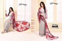 Fancy Print Long Salwar Suits