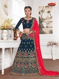 Fancy Designer Silk Lehenga