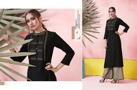 Beautiful Long Kurtis With Plazo