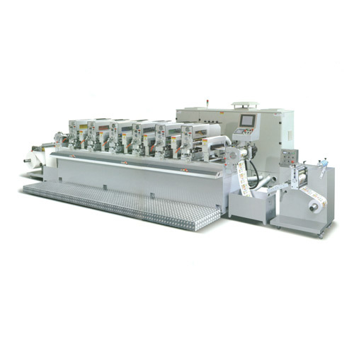 Sticker servo Printing Press Machine
