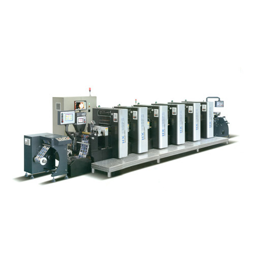 Roll to Roll  offset Sticker Printing Machine