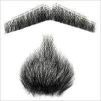 Human Hair Mustache Wigs