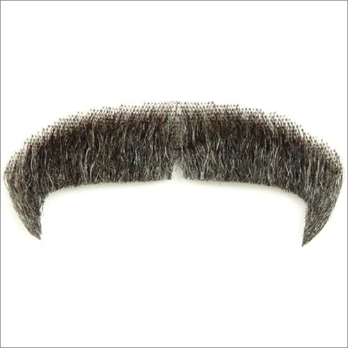 Black Human Hair Mustache